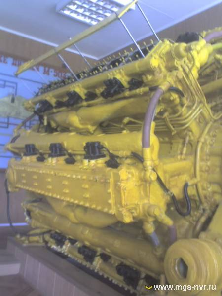 Двигатель М-504