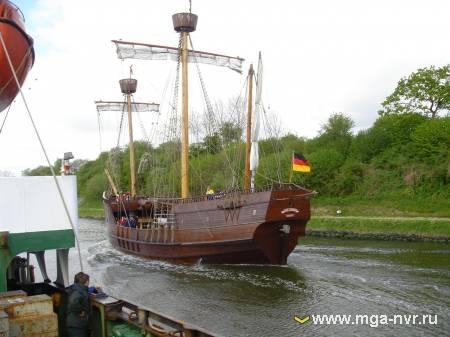 Немецкое парусное судно