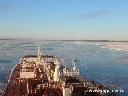Прохождение через льды