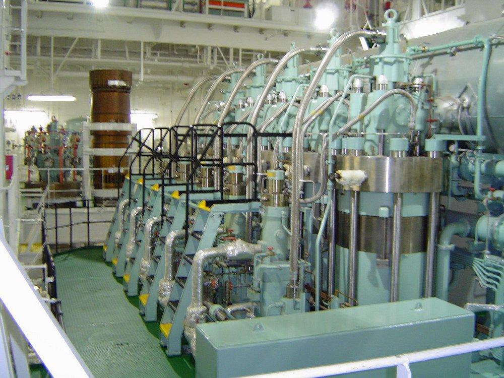 Главный двигатель: HSD–MAN/B&W